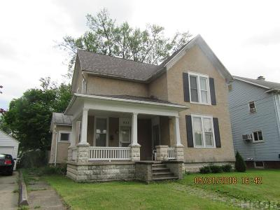 Findlay OH Single Family Home For Sale: $119,900