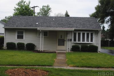 Findlay Single Family Home For Sale: 1018 Parkside Pl