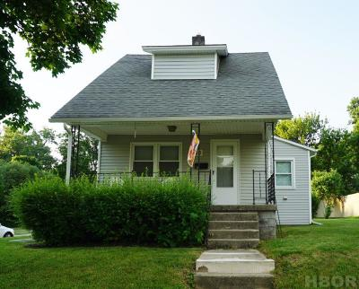 Findlay OH Single Family Home For Sale: $65,900