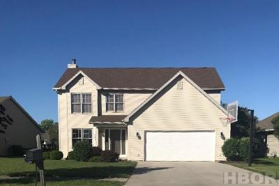 Findlay OH Single Family Home For Sale: $229,900