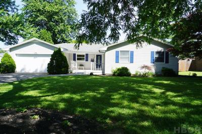 Findlay Single Family Home For Sale: 117 Mohican Rd