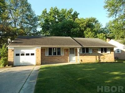 Bowling Green Single Family Home For Sale: 629 Ordway