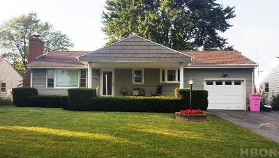 Findlay OH Single Family Home For Sale: $70,000