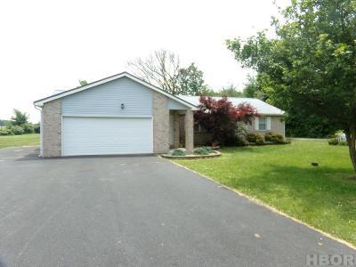 Van Buren Single Family Home For Sale: 11439 Township Rd 109