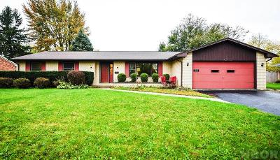 Findlay OH Single Family Home For Sale: $168,500
