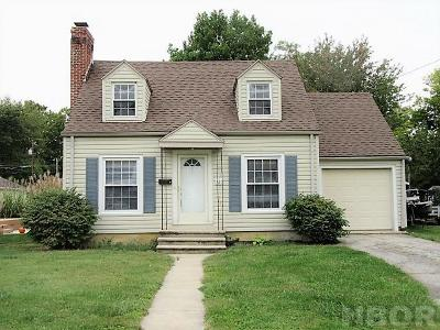 Findlay OH Single Family Home For Sale: $103,500