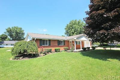 Fostoria Single Family Home For Sale: 409 Burnham Drive
