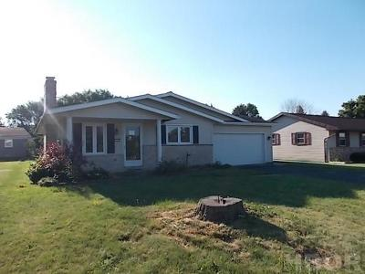 Findlay Single Family Home For Sale: 1919 N Blanchard St