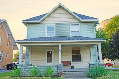 McComb Single Family Home For Sale: 404 W Main St.