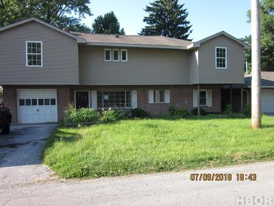 Findlay OH Single Family Home For Sale: $50,000