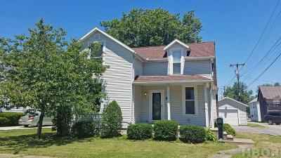 Findlay OH Single Family Home For Sale: $103,000