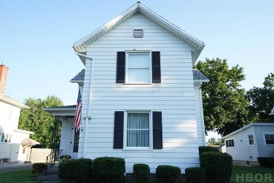 Findlay OH Single Family Home For Sale: $119,500