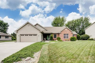 Findlay Single Family Home For Sale: 306 Fairmont Dr