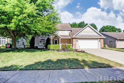 Findlay Single Family Home For Sale: 300 W Sawmill Rd
