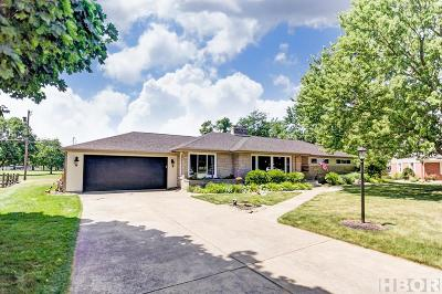 Findlay Single Family Home For Sale: 610 W Circle Dr