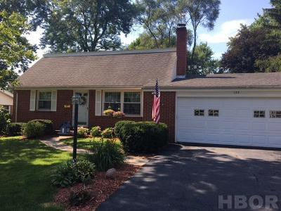 Findlay Single Family Home For Sale: 133 Woodley Terrace