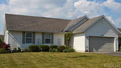 Findlay OH Single Family Home For Sale: $174,000