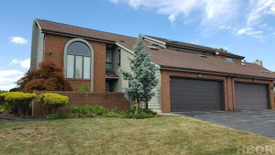Findlay OH Condo/Townhouse For Sale: $278,000