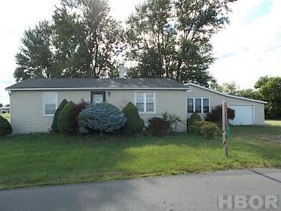 Findlay OH Single Family Home For Sale: $59,900