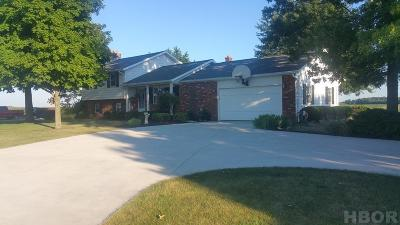 Fostoria Single Family Home For Sale: 9680 W County Road 18