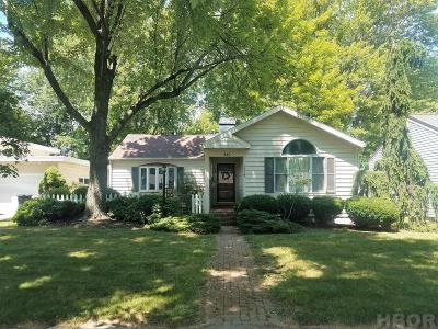Findlay OH Single Family Home For Sale: $137,500