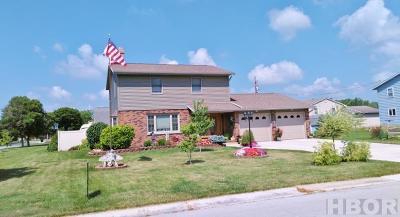 Fostoria Single Family Home For Sale: 1201 Lincoln Ave