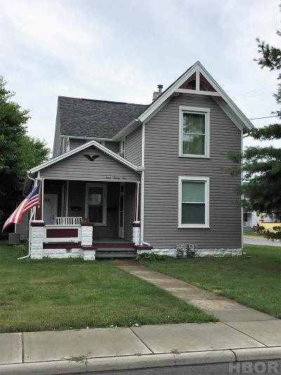 Findlay OH Multi Family Home For Sale: $107,500