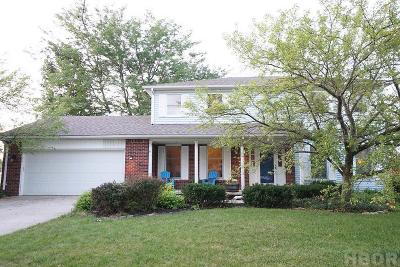 Findlay Single Family Home For Sale: 312 Coventry Dr.