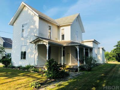 Van Buren OH Single Family Home For Sale: $87,000