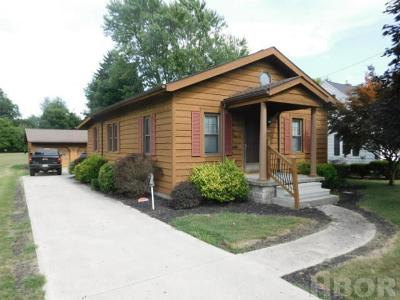 Findlay OH Single Family Home For Sale: $120,000
