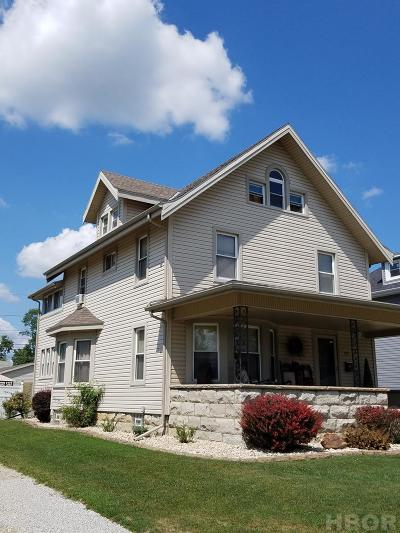 Tiffin Single Family Home For Sale: 475 E Perry