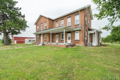 Fostoria Single Family Home For Sale: 4383 McCutchenville Rd