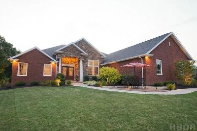 Findlay Single Family Home For Sale: 6560 Silver Lake Dr.