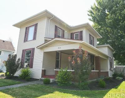 Arlington OH Single Family Home For Sale: $144,900