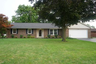 Findlay Single Family Home For Sale: 521 Church Hill Dr