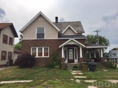 Fostoria Single Family Home For Sale: 621 N Union St.