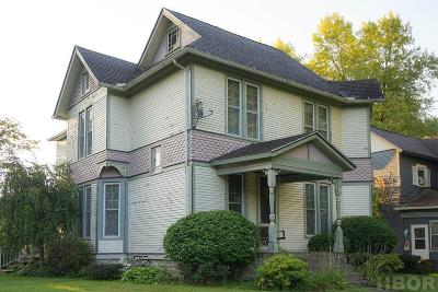 Findlay OH Single Family Home For Sale: $159,000