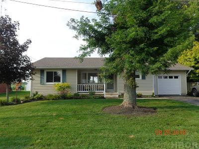 Arlington OH Single Family Home For Sale: $119,000
