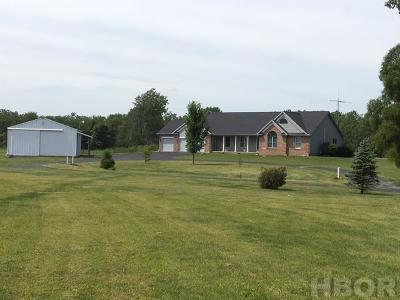 Mt Blanchard Single Family Home For Sale: 202 Marilyn Lane