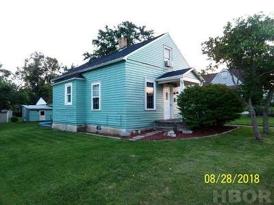 Findlay OH Single Family Home For Sale: $75,500