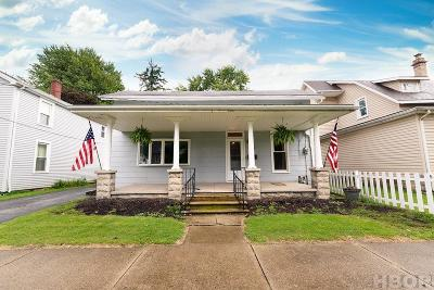 Findlay OH Single Family Home For Sale: $95,900