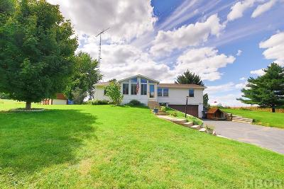 Forest OH Single Family Home For Sale: $149,900