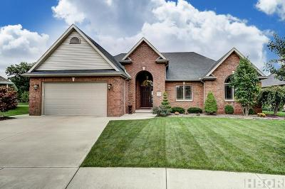 Findlay Single Family Home For Sale: 8131 Clearbrook Dr