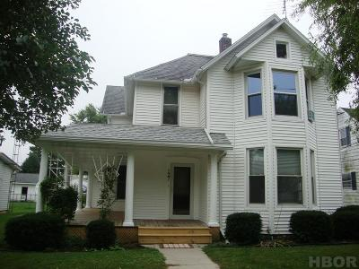 McComb Single Family Home For Sale: 127 E South St