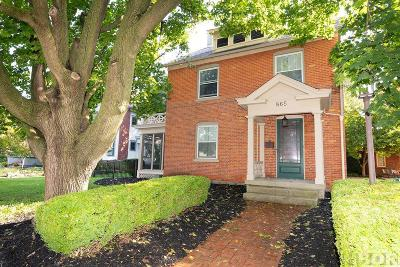 Findlay Single Family Home For Sale: 865 S Main St