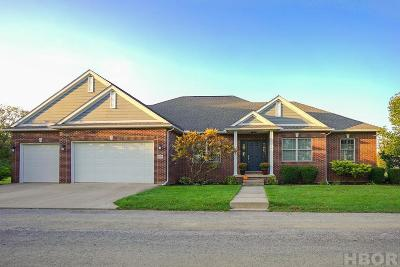 Findlay Single Family Home For Sale: 856 Township Rd 204