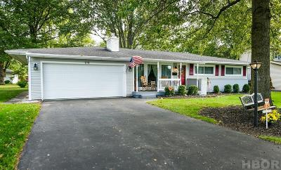 Findlay Single Family Home For Sale: 713 Canterbury Dr