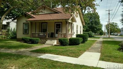 Findlay OH Single Family Home For Sale: $99,900