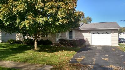 Findlay OH Single Family Home For Sale: $110,000