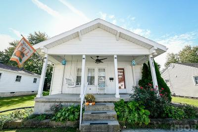 Findlay OH Single Family Home For Sale: $97,900